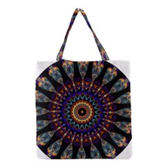Colorful Prismatic Chromatic Grocery Tote Bag