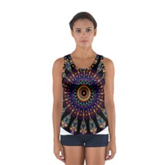 Colorful Prismatic Chromatic Women s Sport Tank Top