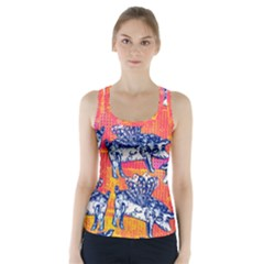 Little Flying Pigs Racer Back Sports Top