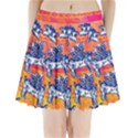 Little flying pigs Pleated Mini Skirt View1