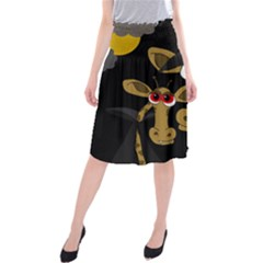 Giraffe Halloween party Midi Beach Skirt