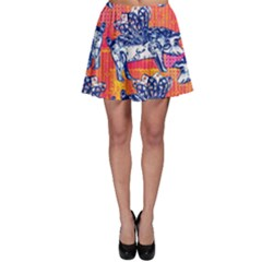 Little Flying Pigs Skater Skirt