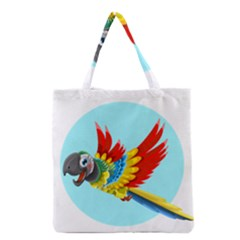 Parrot Grocery Tote Bag