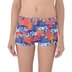 Little Flying Pigs Reversible Boyleg Bikini Bottoms