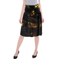 Earth Dragon Midi Beach Skirt