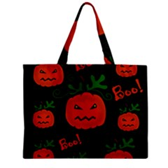 Halloween pumpkin pattern Mini Tote Bag
