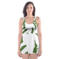 Sasquatch Skater Dress Swimsuit