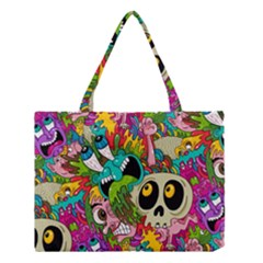 Sick Pattern Medium Tote Bag