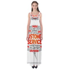 Support Empire Waist Maxi Dress