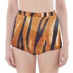 Tiger High-Waisted Bikini Bottoms
