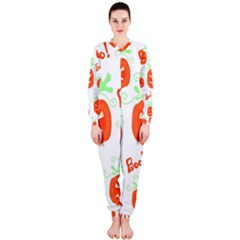 Halloween pumpkins pattern OnePiece Jumpsuit (Ladies)