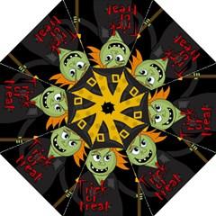 Halloween witch Golf Umbrellas