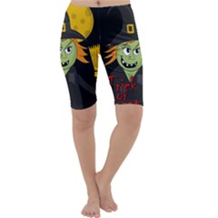Halloween witch Cropped Leggings