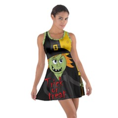Halloween witch Cotton Racerback Dress