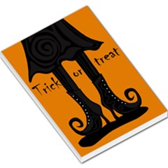 Halloween - witch boots Large Memo Pads