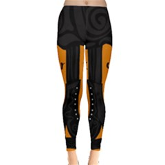 Halloween - witch boots Leggings