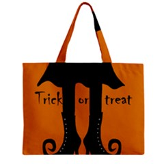 Halloween - witch boots Mini Tote Bag