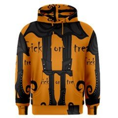 Halloween - witch boots Men s Pullover Hoodie