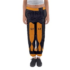 Halloween - witch boots Women s Jogger Sweatpants