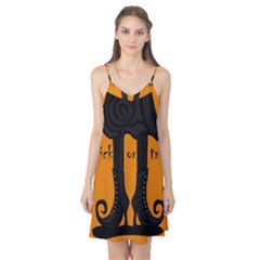 Halloween - witch boots Camis Nightgown