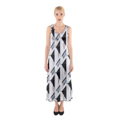 Building Architecture Windows Exterior Sleeveless Maxi Dress