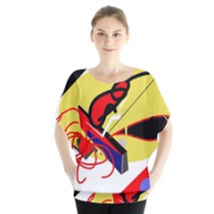Abstract art Blouse
