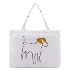 Jack Russell Terrier Color Silo Medium Tote Bag
