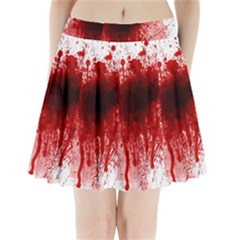 Gunshot Wound Pleated Mini Skirt