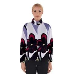 Black flower Winterwear