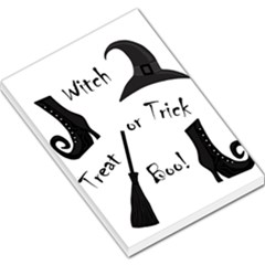Halloween witch Large Memo Pads