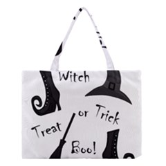 Halloween witch Medium Tote Bag