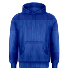 Scribbled Two Tone Blue Men s Pullover Hoodie