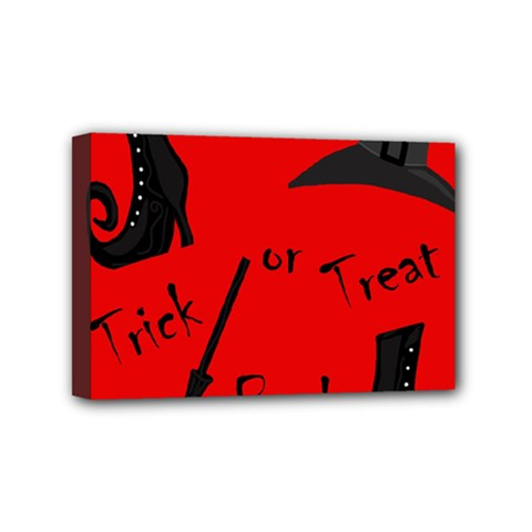 Witch supplies  Mini Canvas 6  x 4