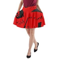 Witch supplies  A-Line Pocket Skirt