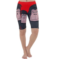 Gorillas Cropped Leggings
