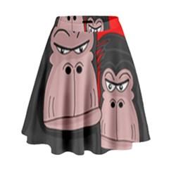 Gorillas High Waist Skirt