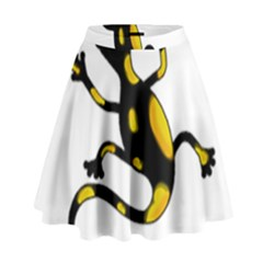 Lizard High Waist Skirt