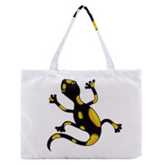 Lizard Medium Zipper Tote Bag
