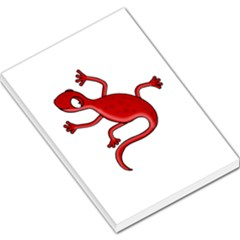 Red lizard Large Memo Pads