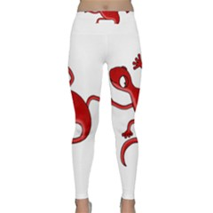 Red lizard Yoga Leggings