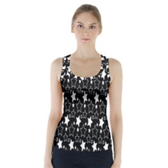 White Star Racer Back Sports Top