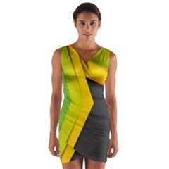 Your Resolution Wrap Front Bodycon Dress