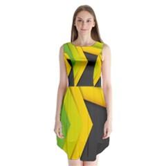 Your Resolution Sleeveless Chiffon Dress