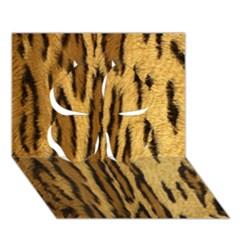 Wildlifesafrica Clover 3D Greeting Card (7x5)