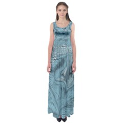 Frost Dragon Empire Waist Maxi Dress