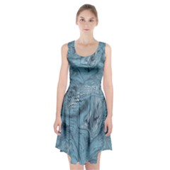 FROST DRAGON Racerback Midi Dress