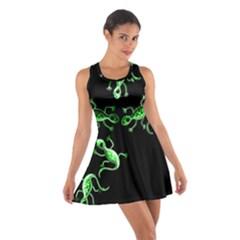 Green lizards Cotton Racerback Dress