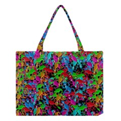 Lizard Pattern Medium Tote Bag