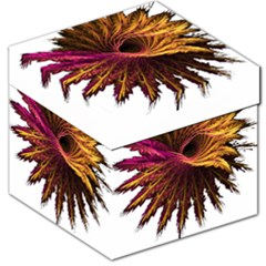 Abstract Fractal Storage Stool 12