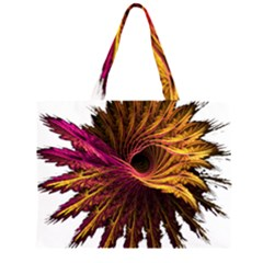 Abstract Fractal Large Tote Bag
